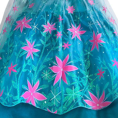 disney store elsaus frozen fever dress cape