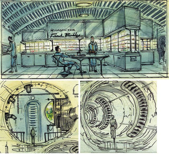 Fallout concept art (Adam Adamowicz, 2010)
