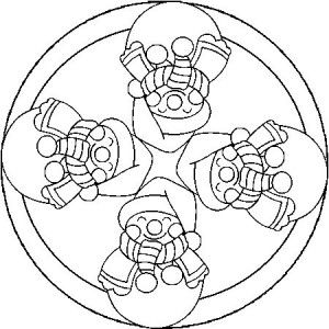 christmas mandala coloring pages - Christmas Mandalas Coloring Book