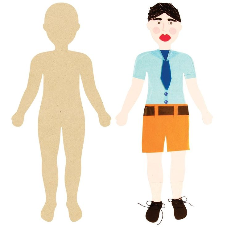 Giant Wooden Person - Create a fun wall decoration!