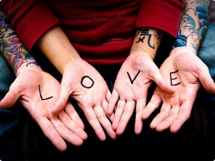صور رومانسية مكتوب عليها 2020 خلفيات مكتوب عليها Happy Promise Day Happy Promise Day Love Couple Tattoos Love