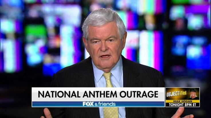 Former House Speaker Newt Gingrich (R-Ga.) fired back at NFL players and owners who objected to Trump's criticism of them kneeling for the national anthem.