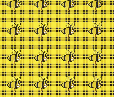 Zombees are coming fabric by lucydynamite on Spoonflower - custom fabric