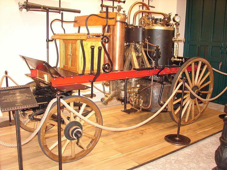 Historická technika-parní stříkačka - Historická technika-parní stříkačka