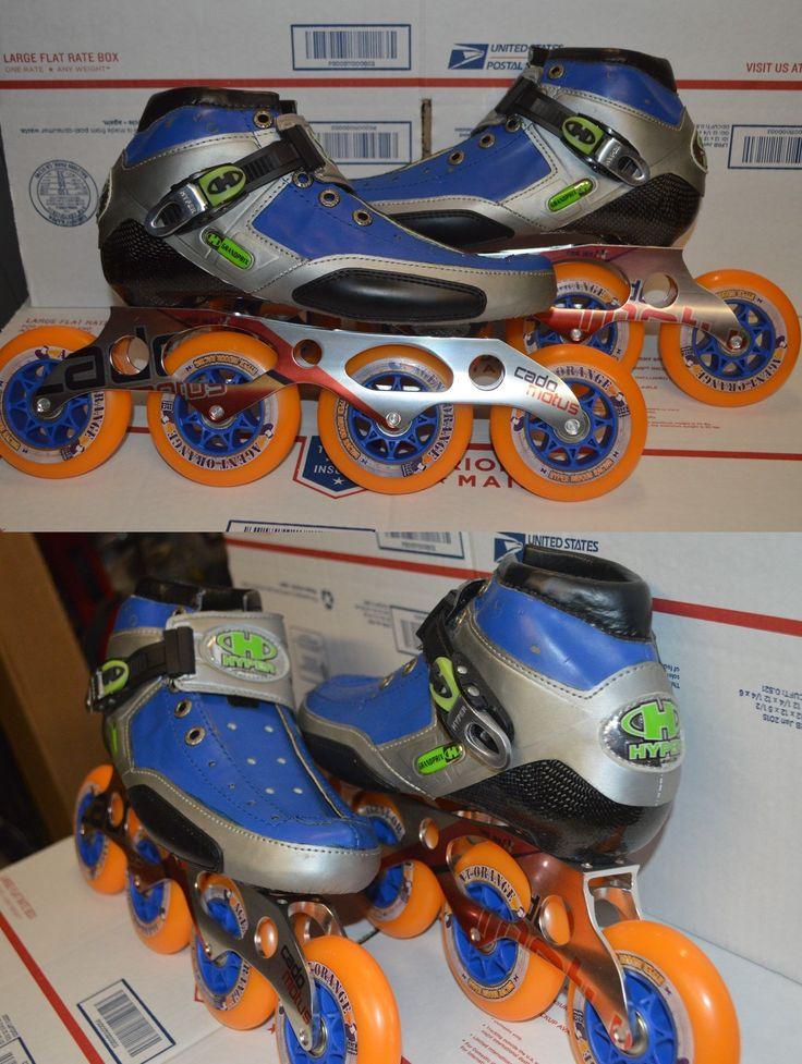 Men 47346: Hyper Grand Prix Inline Speed Skates Size 8 40.5Eu Brand New -> BUY IT NOW ONLY: $175.99 on eBay!