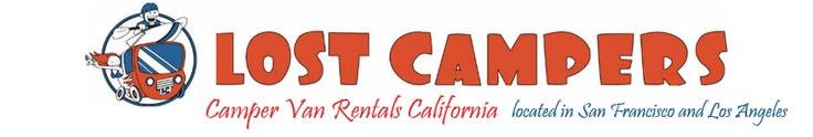 Camper Van Rentals California. Located in San Francisco and Los Angeles.