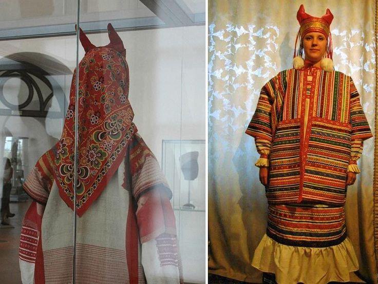 Немного из истории русского костюма — Росчерк словом