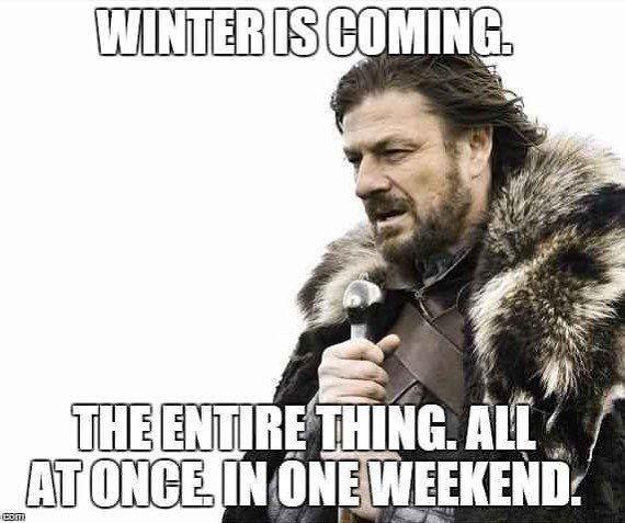 Stl Almost 70 At Beginning Of Week Almost Blizzard At End Verjaardag Image