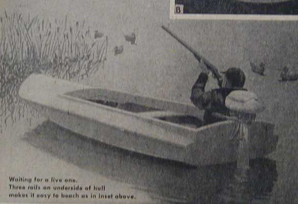 ... Duck Boat Barnegat Bay Sneak Box 1836 Design How to Build Plans More