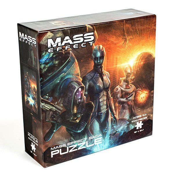 1000-Piece Video Game Puzzles (Mass Effect Fallout 4 Doom Skyrim) $5.99 each  Free S/H on $25 via ThinkGeek