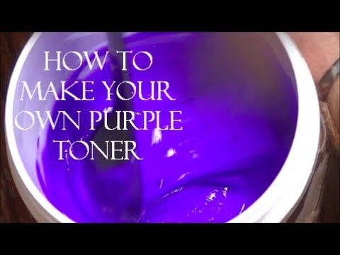 DIY- How To Make Your Own Purple Toner (+playlist)