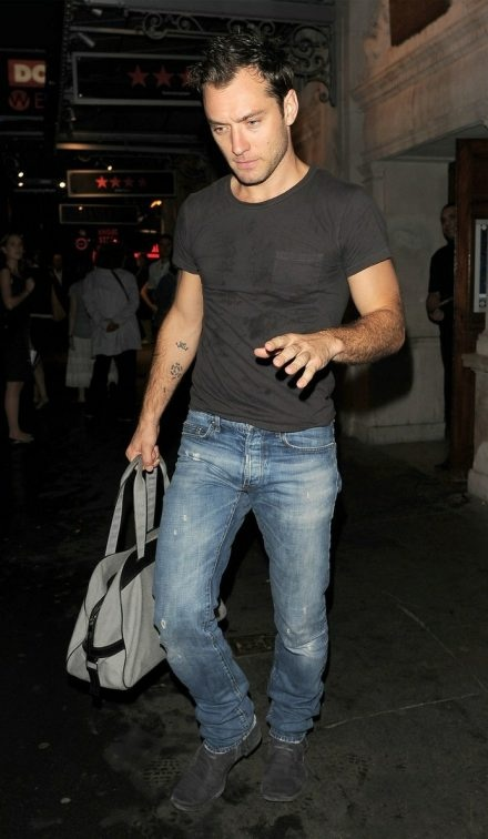 Dior Homme Jean - Jude Law bought this pair of jeans off my body at a shoot. I wish I could buy them back now! - BG