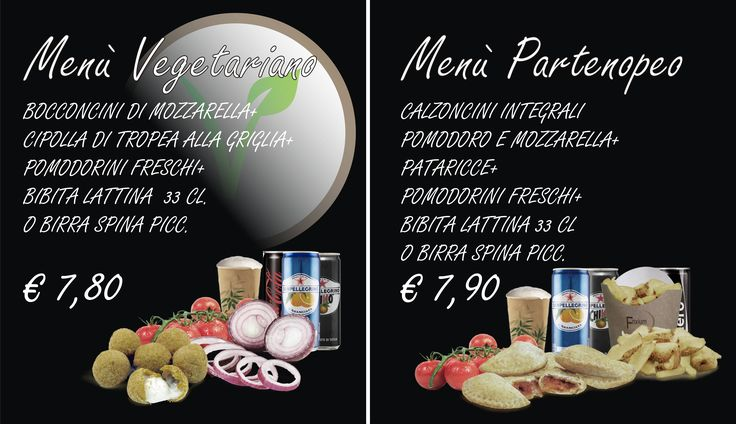 Menù Vegetariano - Menù Parteonopeo .... vieni a trovarci da Frixium Italia a Firenze