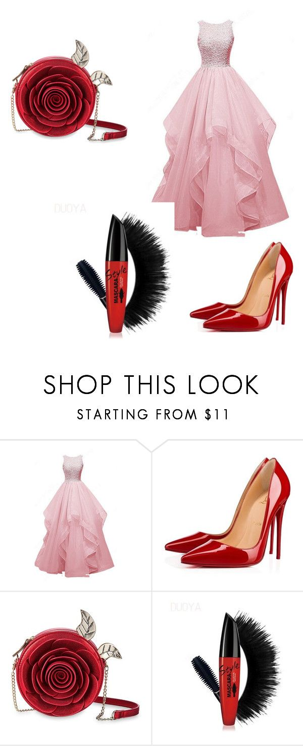 """Untitled #214"" by denysa-boldog on Polyvore featuring Christian Louboutin"
