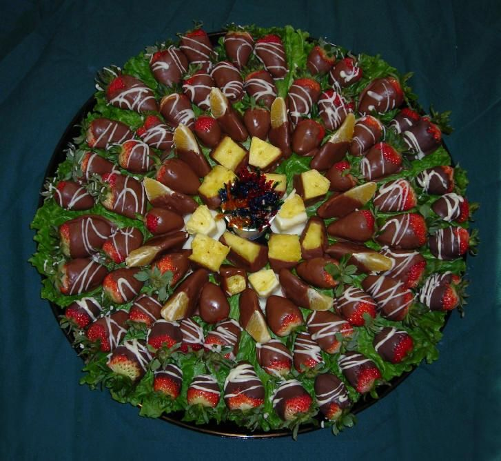 fruit tray display