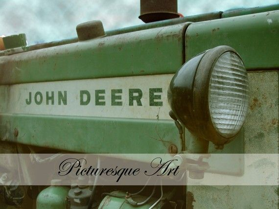 john+deere++side+view+11x14+fine+art+photography+by+PicturesqueArt,+$32.00