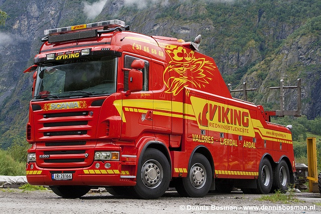 SCANIA R560 - Viking in Norway | Big ass Trucks | Pinterest | Tow truck, What i want and Trucks