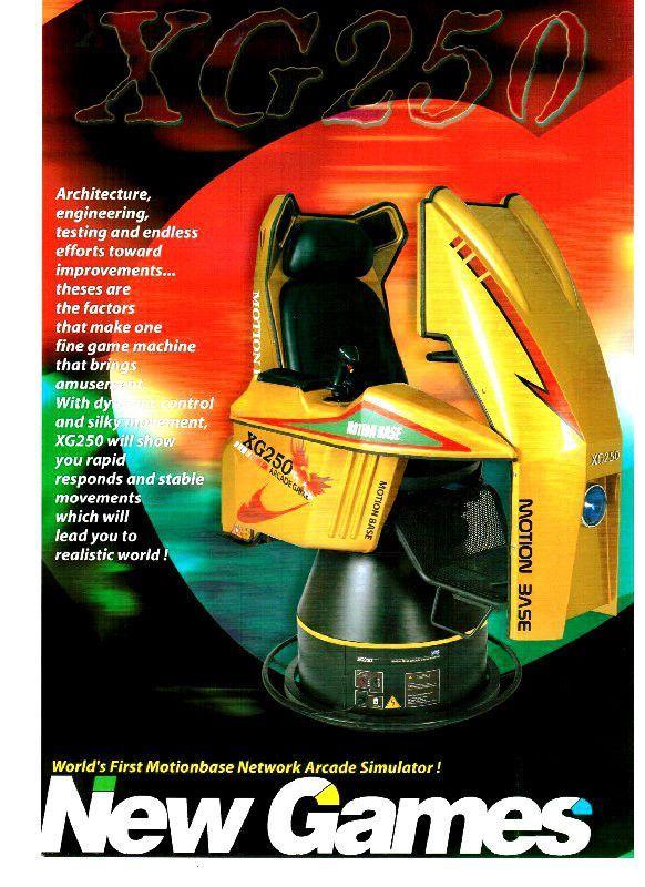 Arcade Spiel 3D Motion Simulator Flugsimulation Fluglehrer