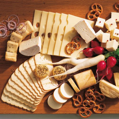 German Cheese Platter perfect for Oktoberfest or with Beer
