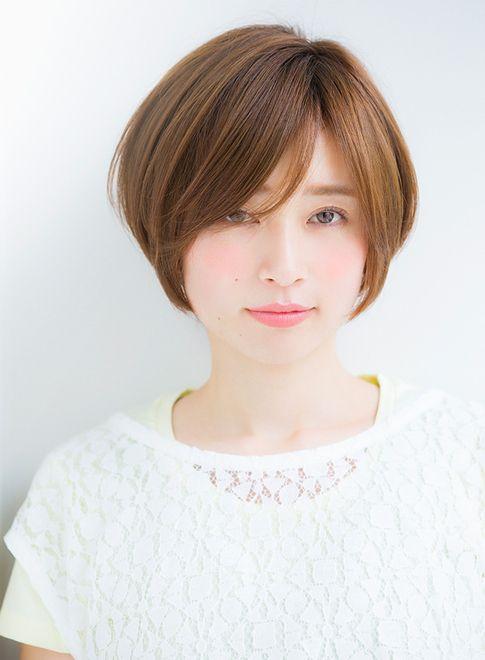 【ショートヘア】ノームコア×シースルー ショートボブ/Ramieの髪型・ヘアスタイル・ヘアカタログ|2015秋冬