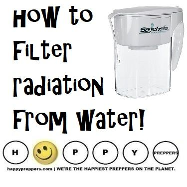 HOW TO FILTER RADIATION FROM YOUR WATER: Do you have a radiation filter for your water? In the event of a radiation emergency you can improve your chances for survival with a proper filter. Keep this page bookmarked as the filters are likely SOLD OUT as the North Korean crisis escalates, but they will eventually be back in stock. http://happypreppers.com/seychelle.html