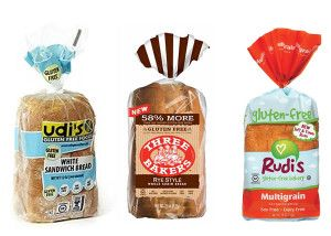 Five of the best gluten free bread brands.