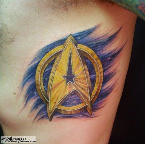 prettiest star trek tattoo i've seen