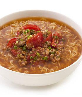 トマト麻婆麺 by サッポロ一番 [クックパッド] 簡単おいしいみんなの ...