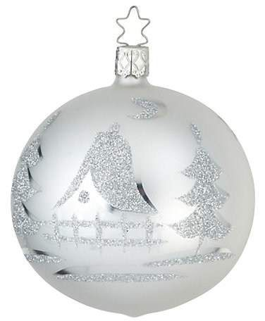 Inge\u0027s Christmas Decor Glass Ball Christmas Ornament #affiliate