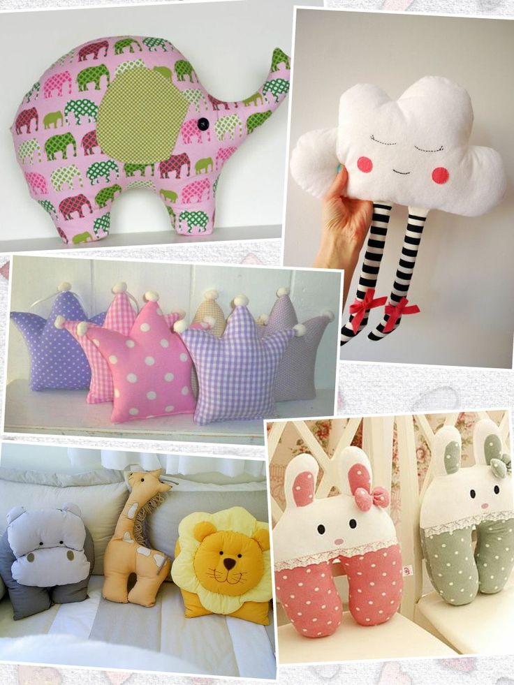 Детские подушки-игрушки