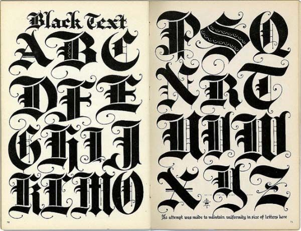 17 best images about lettering on pinterest fonts alphabet and black letter