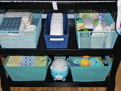 Great Idea! I Love This For Emersonu0027s Nursery...when We Finally Move. Changing  Table OrganizationOrganization ...