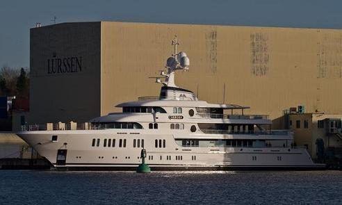 Lurssen Launches 74m Superyacht Aurora