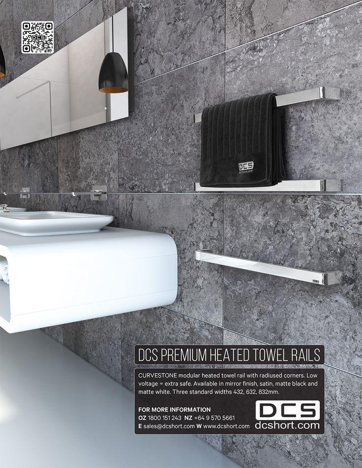 Houses Kitchens + Bathrooms OZ - DCS Heated Towel Rails