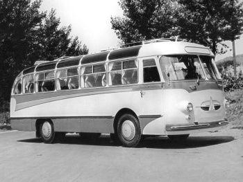 """ЛАЗ 697 """"Турист"""" Опытный (№15-Э) '1959"""