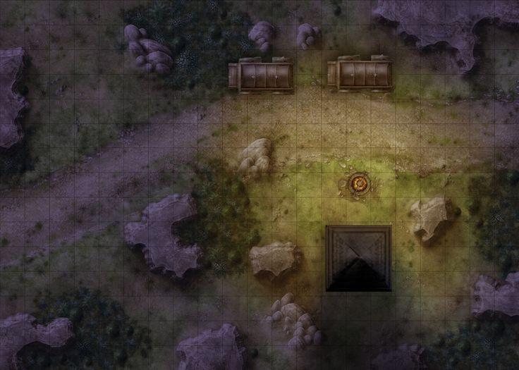 map maps battlemaps forest battle rpg fantasy pathfinder battlemap dark cave dungeon camp campsite dungeons dragons lake dnd trail adventure
