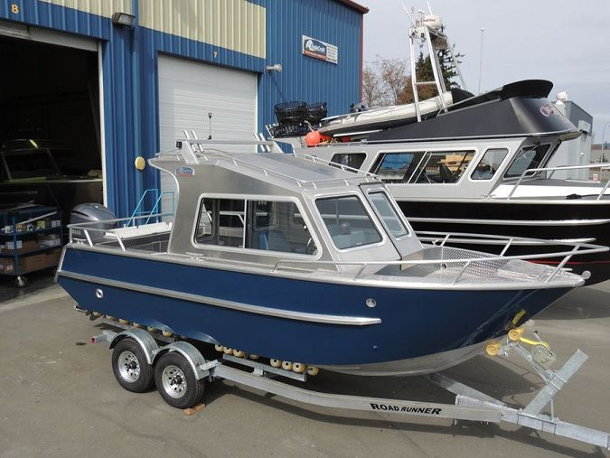 45 best cuddy cabin boats images on pinterest for Aluminum boat with cabin for sale