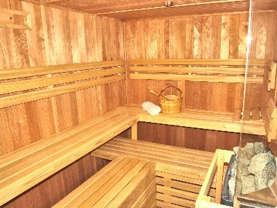 a traditional finish sauna before diving into the sea is an experience!