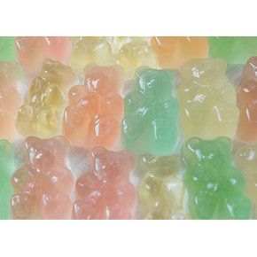 Champagne Gummy Bears?!? Yes, please!