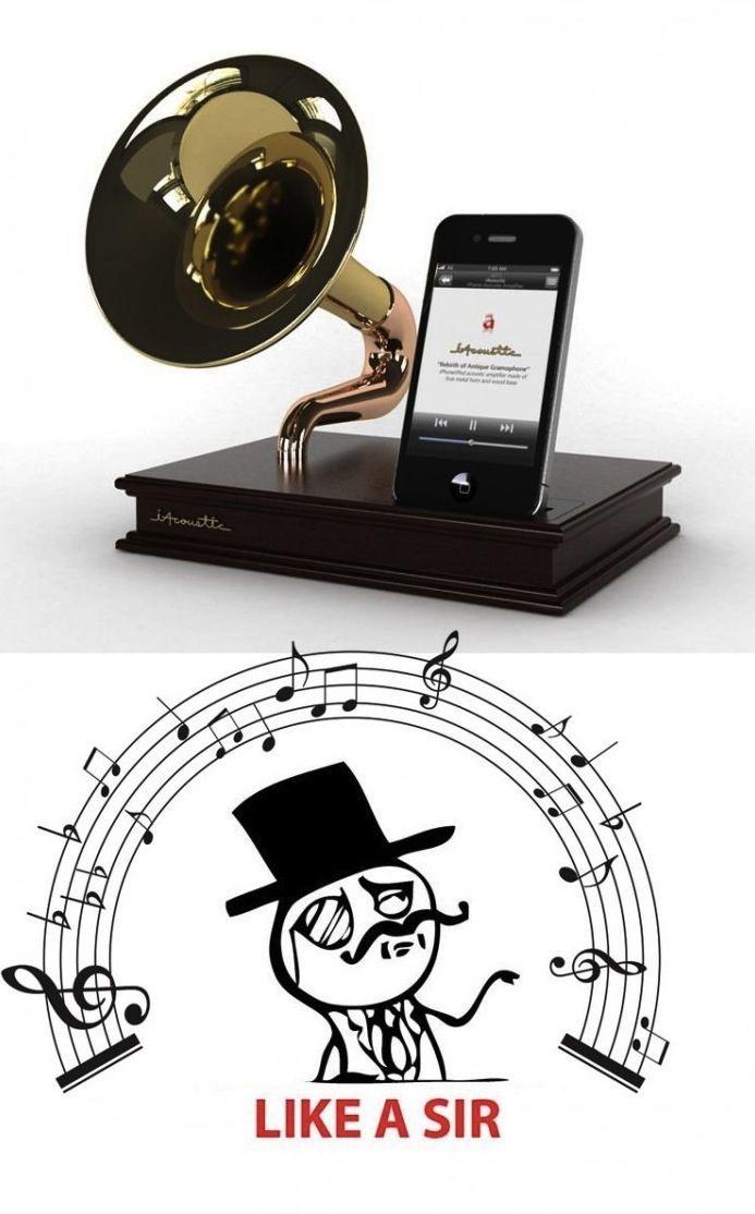 Music, like a Sir.
