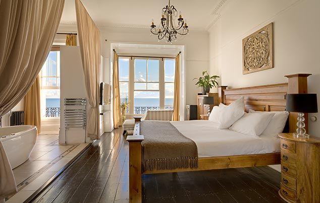 Zanzibar Boutique Hotel, Hastings, Sussex http://www.goodhotelguide.com/HotelDetails.aspx?id=387 #sussex #boutiquehotel #seaside