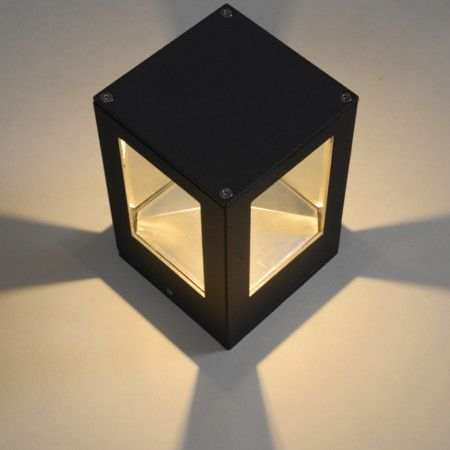 Giro wall lamp in dark grey