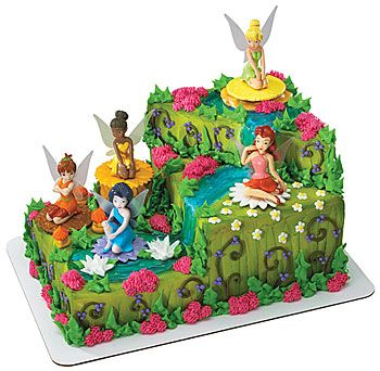 Tink's Waterfall Cake Idea