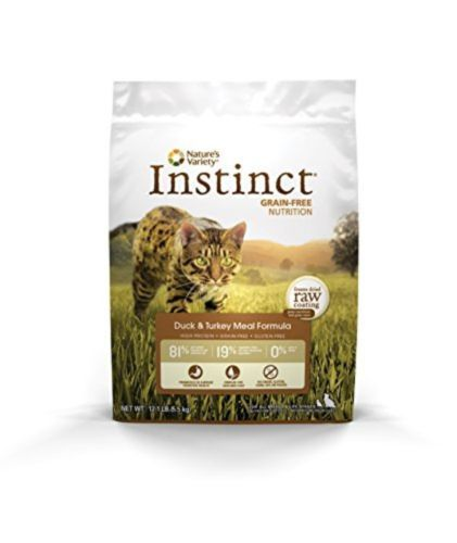 Natures Variety Instinct Dry Grain Free Duck Turkey Meal Formula Dry Cat Food, - http://pets.goshoppins.com/cat-supplies/natures-variety-instinct-dry-grain-free-duck-turkey-meal-formula-dry-cat-food/