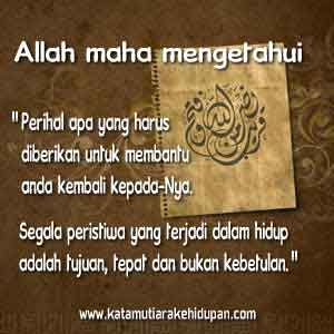 17 Best images about Kata Mutiara Islam dan Islami on Pinterest  Allah, Islam and Quran