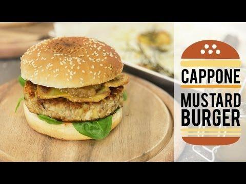 Cappone Mustard Burger - Ricette di Natale di Gnam Box