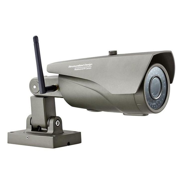 Wireless outdoor waterproof Wifi IP IR Camera for wifi gsm Home Security alarm system wireless App Control HD camera K04