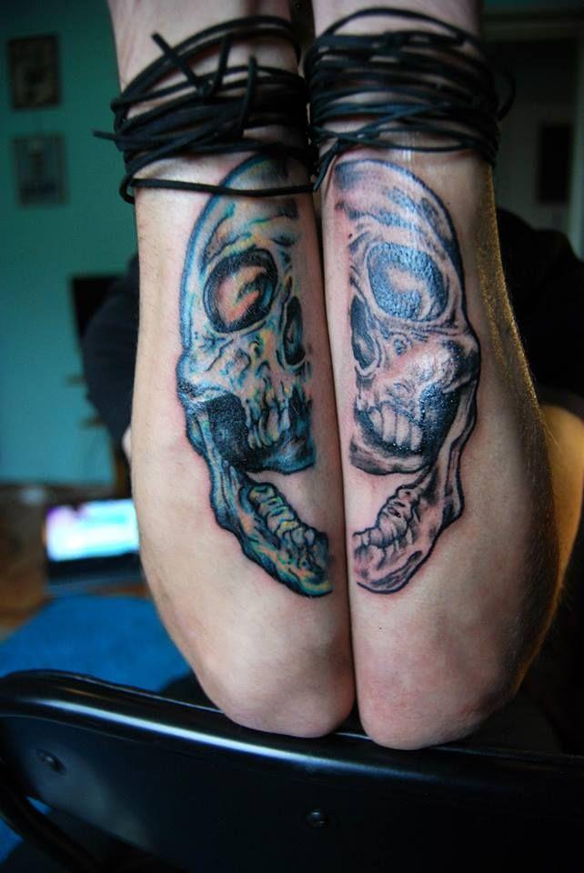 Skull tattoo..https://www.facebook.com/pages/BAStattoo-GALLERYart-caffe/124021327663799?fref=ts