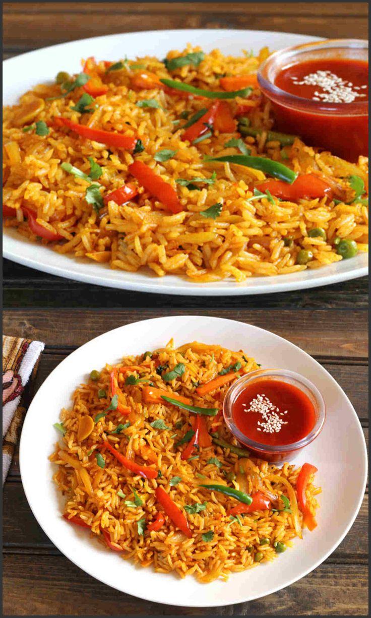 Chilli Coriander Rice - Cook with Kushi