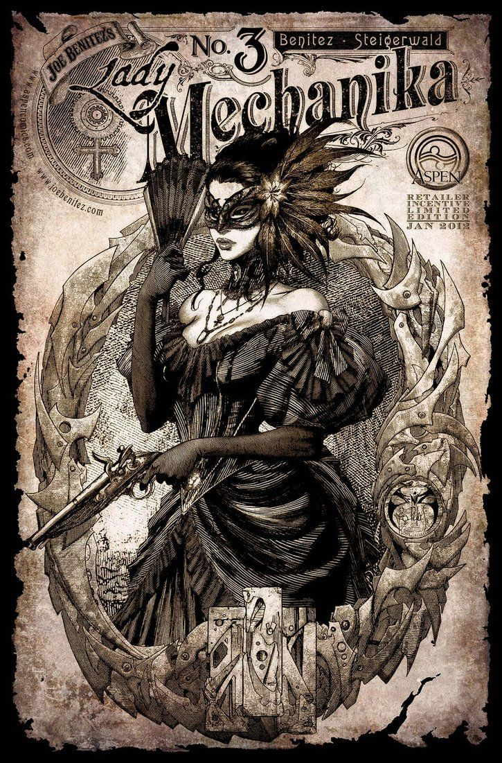 Lady Mechanika 3 Cover Retailer incentive by ~joebenitez on deviantART